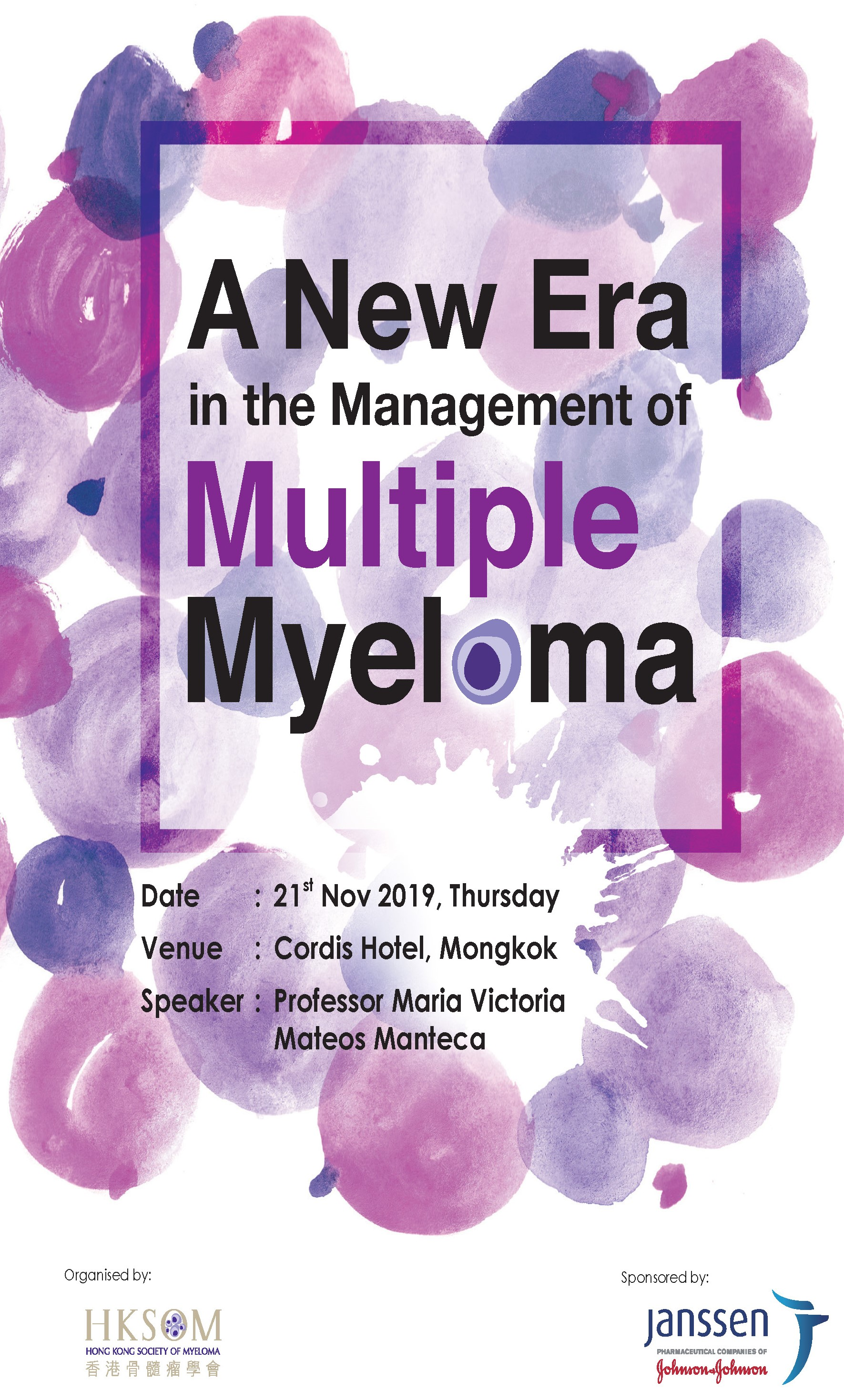 A New Era in the Management of Multiple Myeloma (Cancelled)